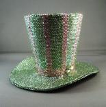 Swarovski Crystal Encrusted Mini Top Hat