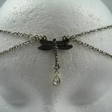 Crystal Chain Maille Dragonfly Circlet