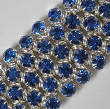 Japanese Crystal Chain Maille Flat Weave